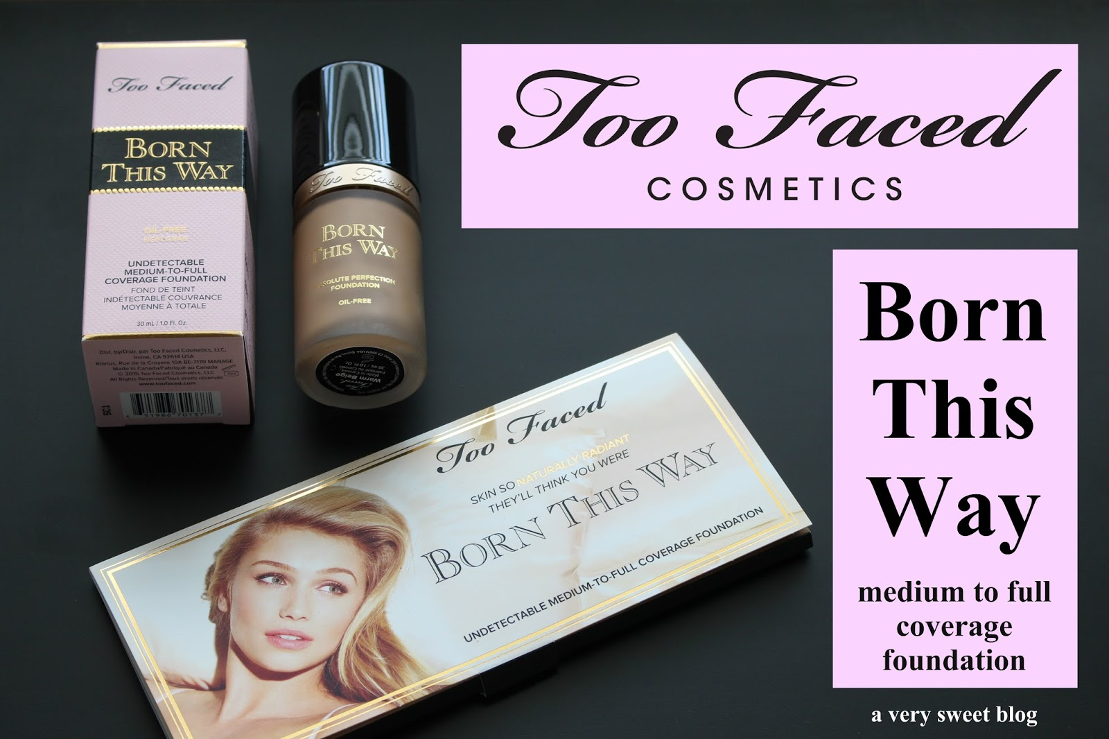 Too Faced Cosmetics Born This Way Liquid Foundation In
