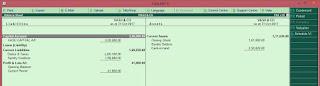 gst balance sheet in tally