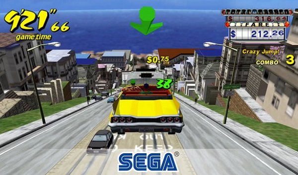 Crazy Taxi Classic iPhone iPad Android juegos de autos gratis