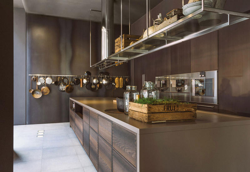 cucina stile industrial Boffi
