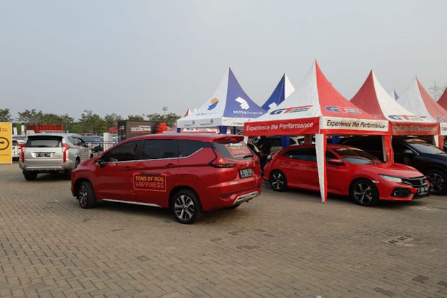 Mitsubishi Xpander Jadi Primadona di Area Test Drive GIIAS