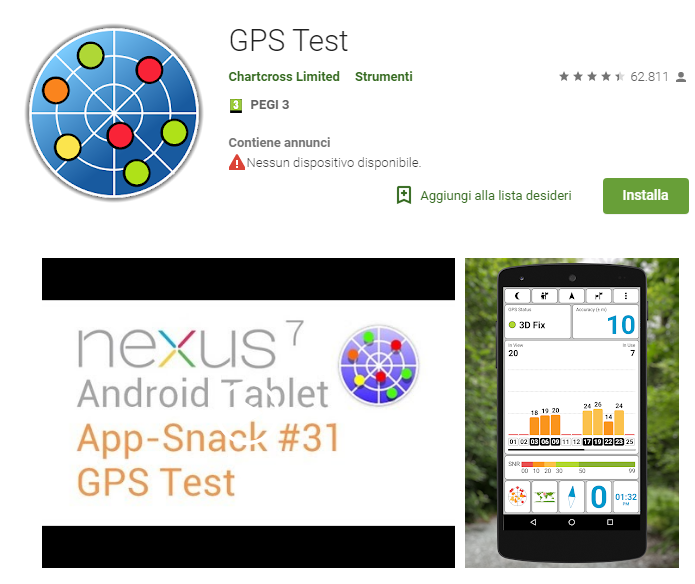 applicazione di appuntamenti GPS