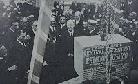 1925 Acto de la Colocación de la piedra fundamental