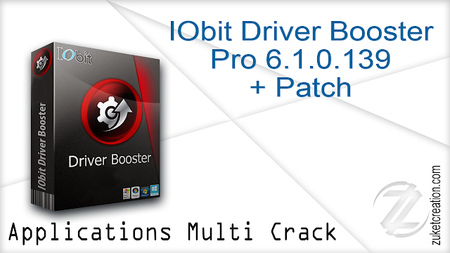 IObit Driver Booster Pro 6.1.0.139 + Patch