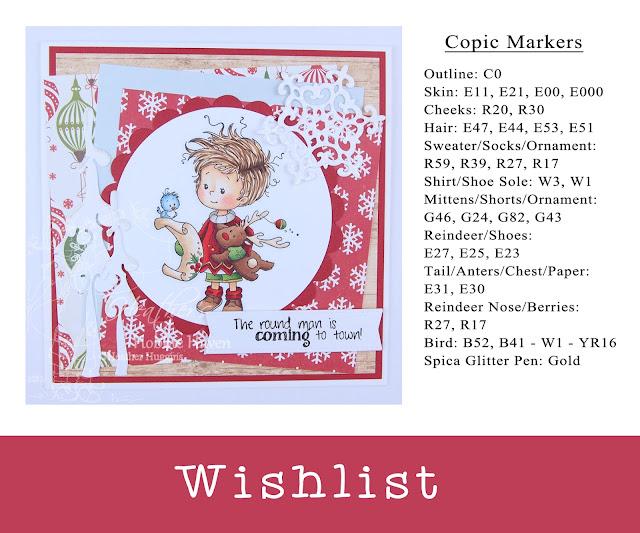 Heather's Hobbie Haven - Wishlist Card Kit