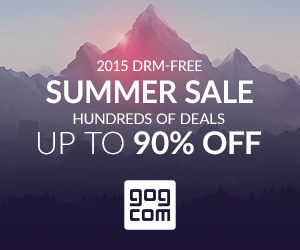 2015 DRM-FREE Summer Sale UP TO 90% OFF