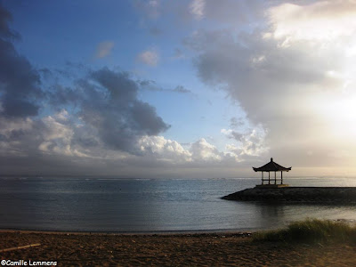 Sanur beach, Bali, Indonesia, early morning