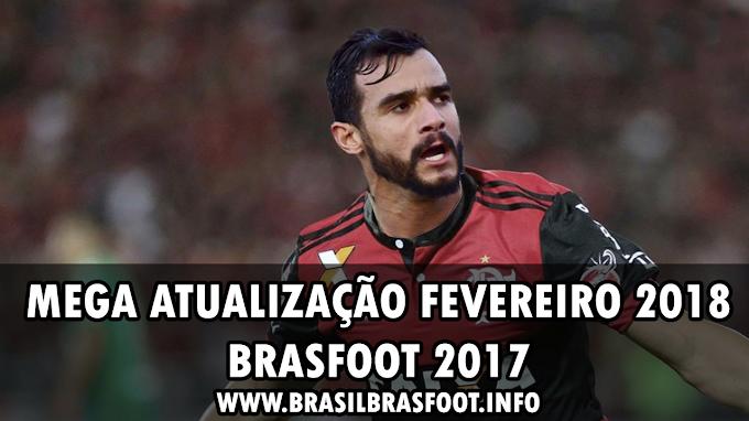 Mega Atualização Fevereiro 2018 - Super Pack Brasfoot 2017