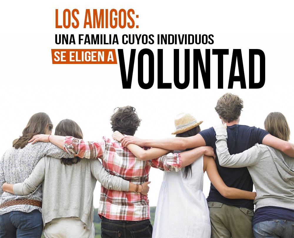 Frases Con Imágenes Los Amigos Una Familia Cuyos