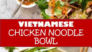 #recipe #food #drink #delicious #family #Vietnamese #Chicken #Noodle #Bowl