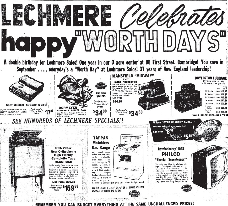 Shopping Days In Retro Boston: Looking Back at Lechmere