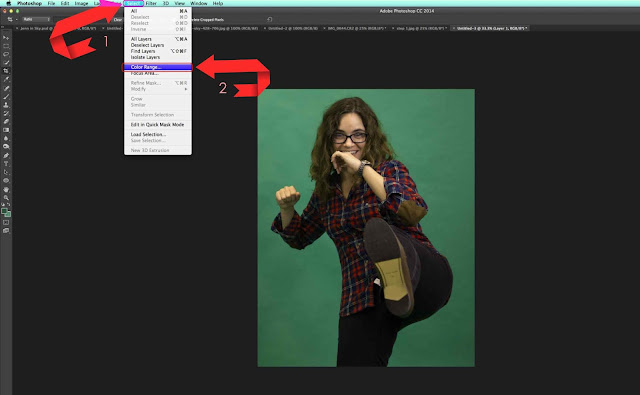 3 | How to Remove Green Screen Background in Photoshop for Beginners