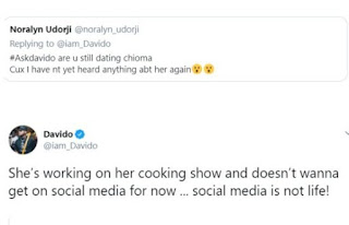 Chef Chioma Instagram Account Disappeared