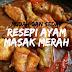 Resepi Ayam Masak Merah - Mudah Dan Cepat (Video)