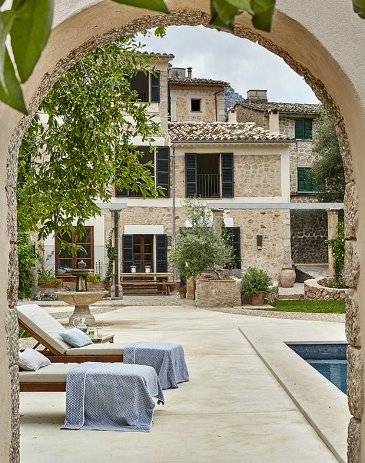 Paz y calma reflejada en una vivienda de Mallorca
