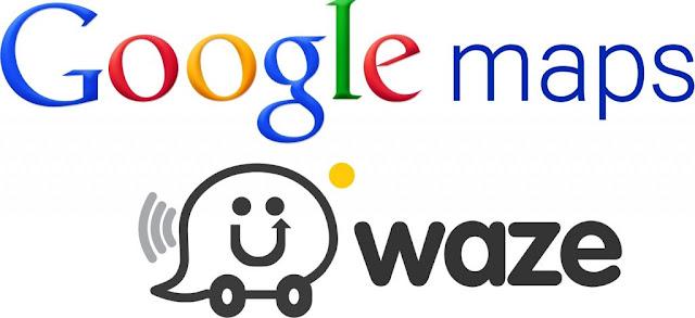 Google Maps dan Waze