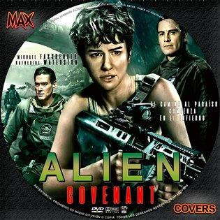 Alien Covenant Galleta