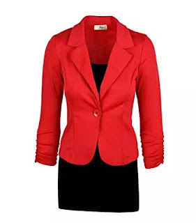 Hillary Clinton Halloween costume debate 1 Red Blazer