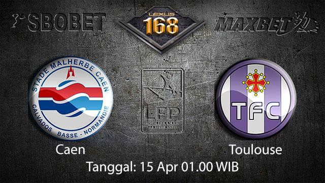 BOLA88 - PREDIKSI TARUHAN BOLA CAEN VS TOULOUSE 15 APRIL 2018 ( FRENCH LIGUE 1 )