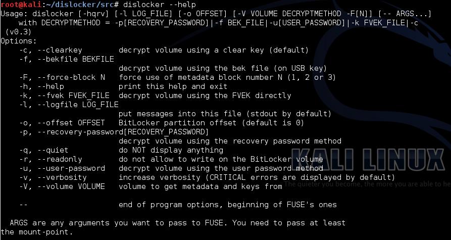 The Evil Bit Blog: Using dislocker to mount BitLocker