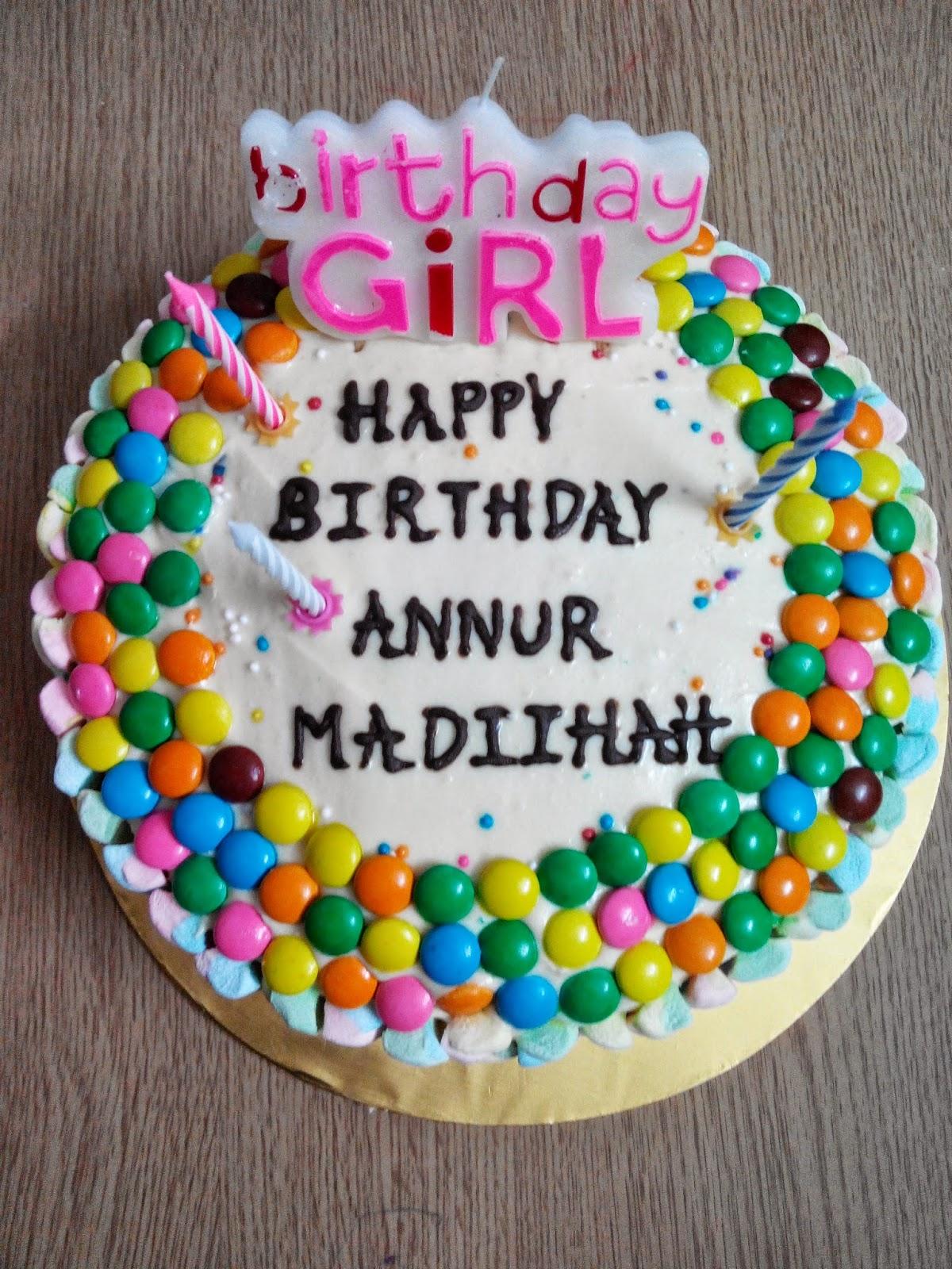 Annur Aishukri 3rd Happy Birhtday Annur Madiihah