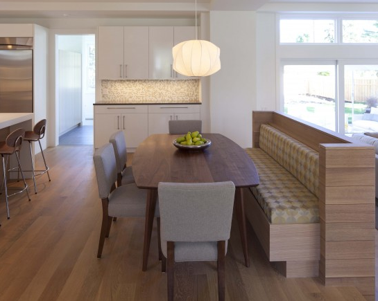 We Love... Built in Kitchen Seating