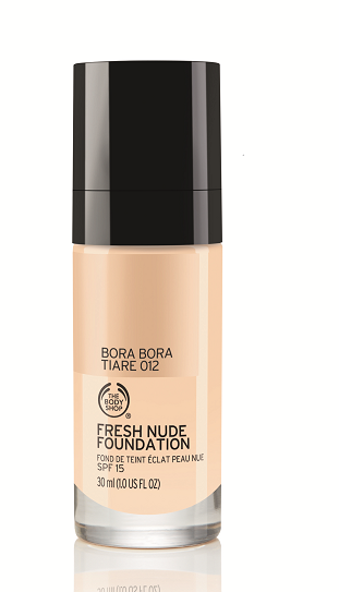 The Body Shop's FRESH NUDE FOUNDATION