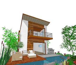 Improvement Make Your Small House Feels Airy  New Home Ideas- Airy Contemporary Residency