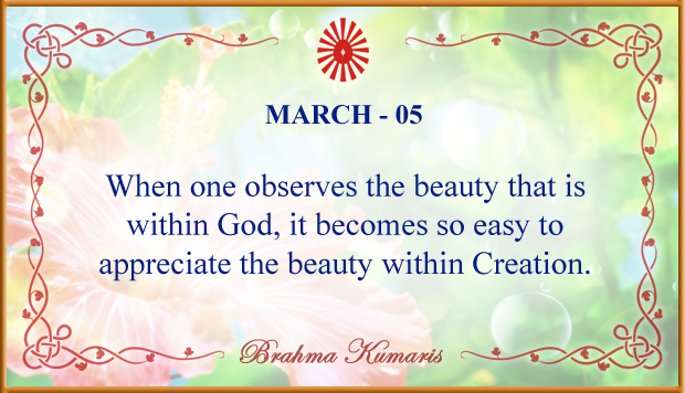 Thought For The Day March 5