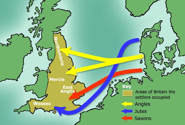 İngiltere ve İngiliz Halkının Ortaya Çıkışı Anglo Saksonların Tarihi