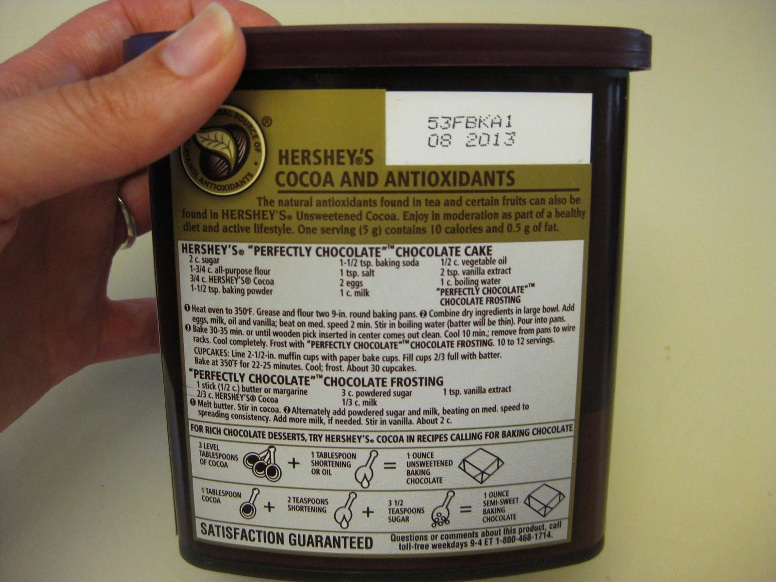 Hersheys Cocoa Cake Frosting