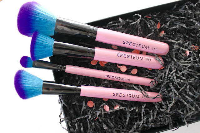 spectrum brushes, spectrum, essential set, 10 piece essential set