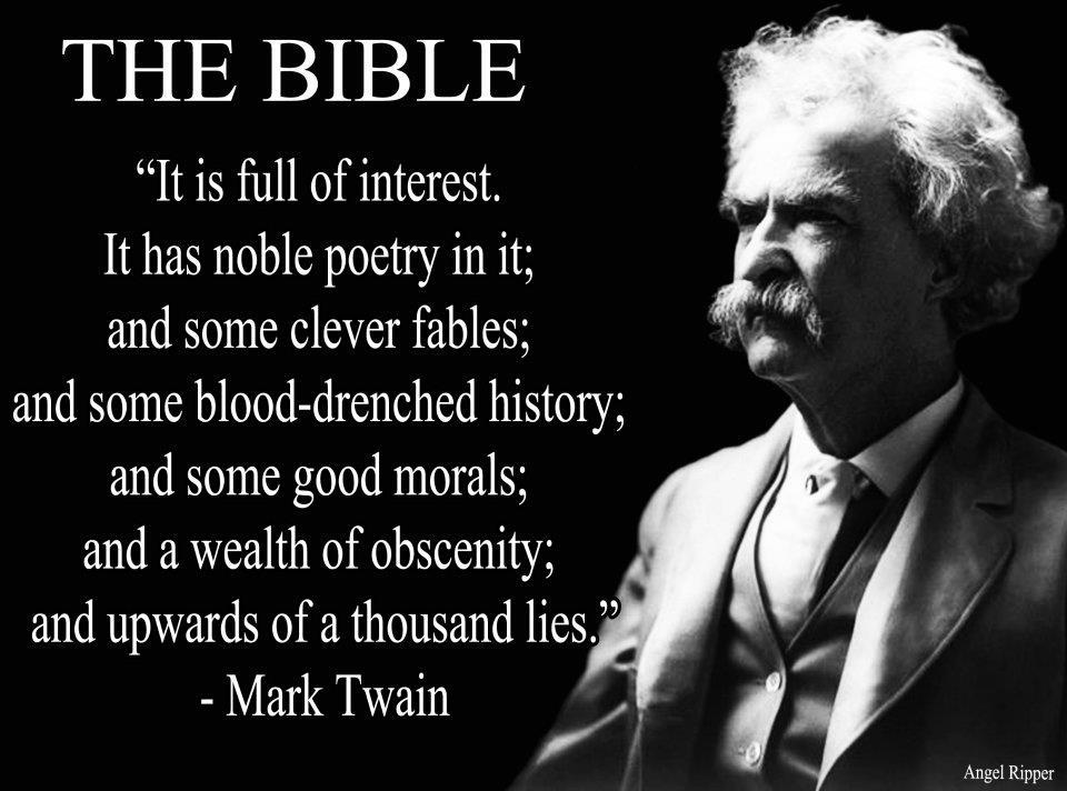 Mark Twain Quotes: Jobsanger: The Bible