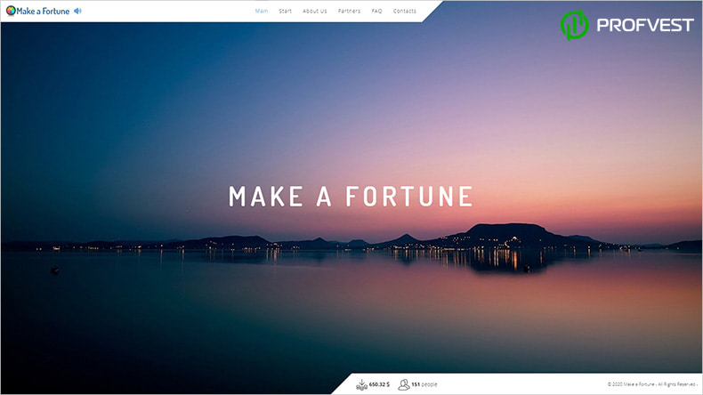 Make a Fortune обзор и отзывы HYIP-проекта