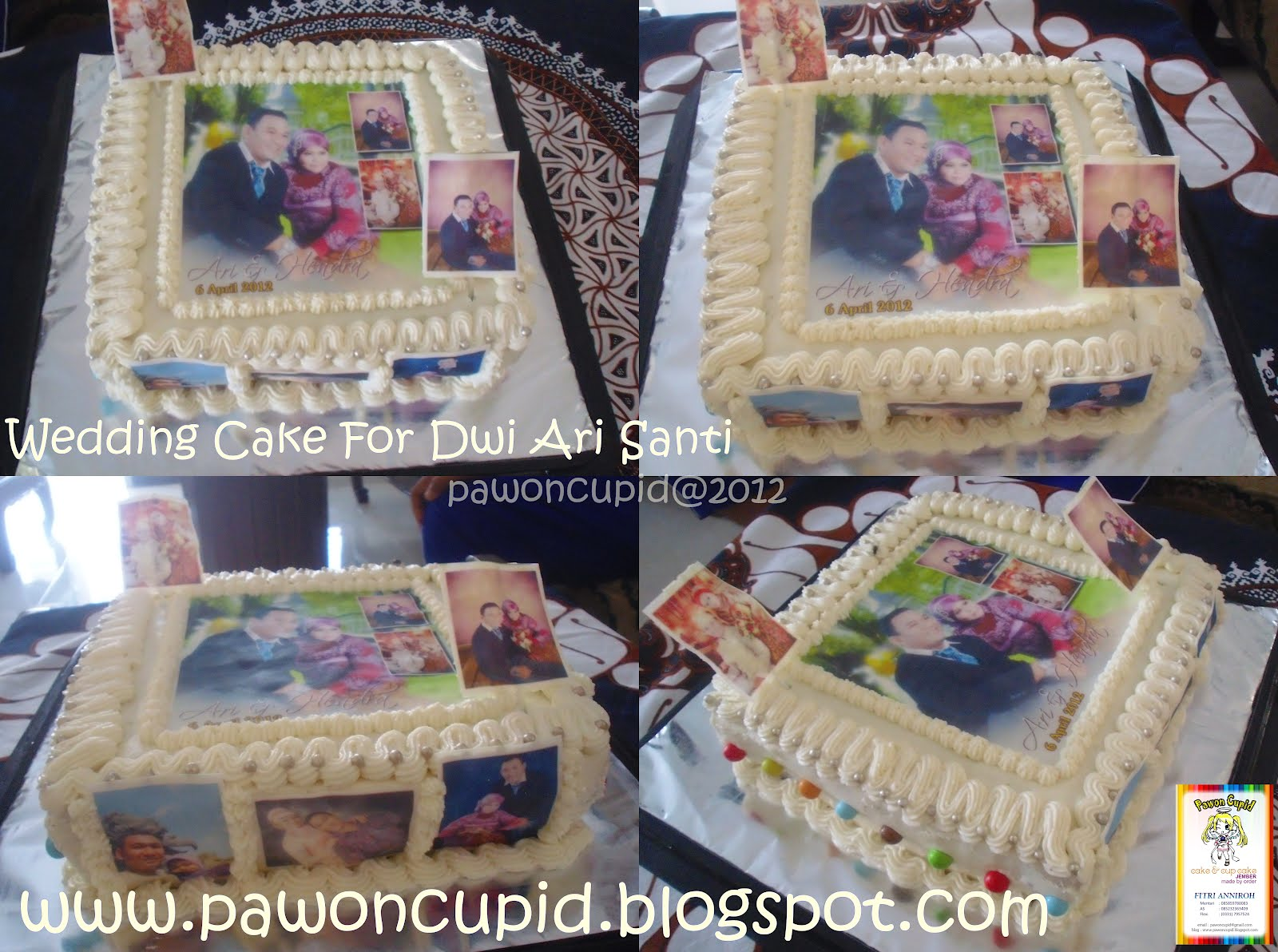 ny liem wedding cake pawon cupid wedding cake for dwi arisanti 17959