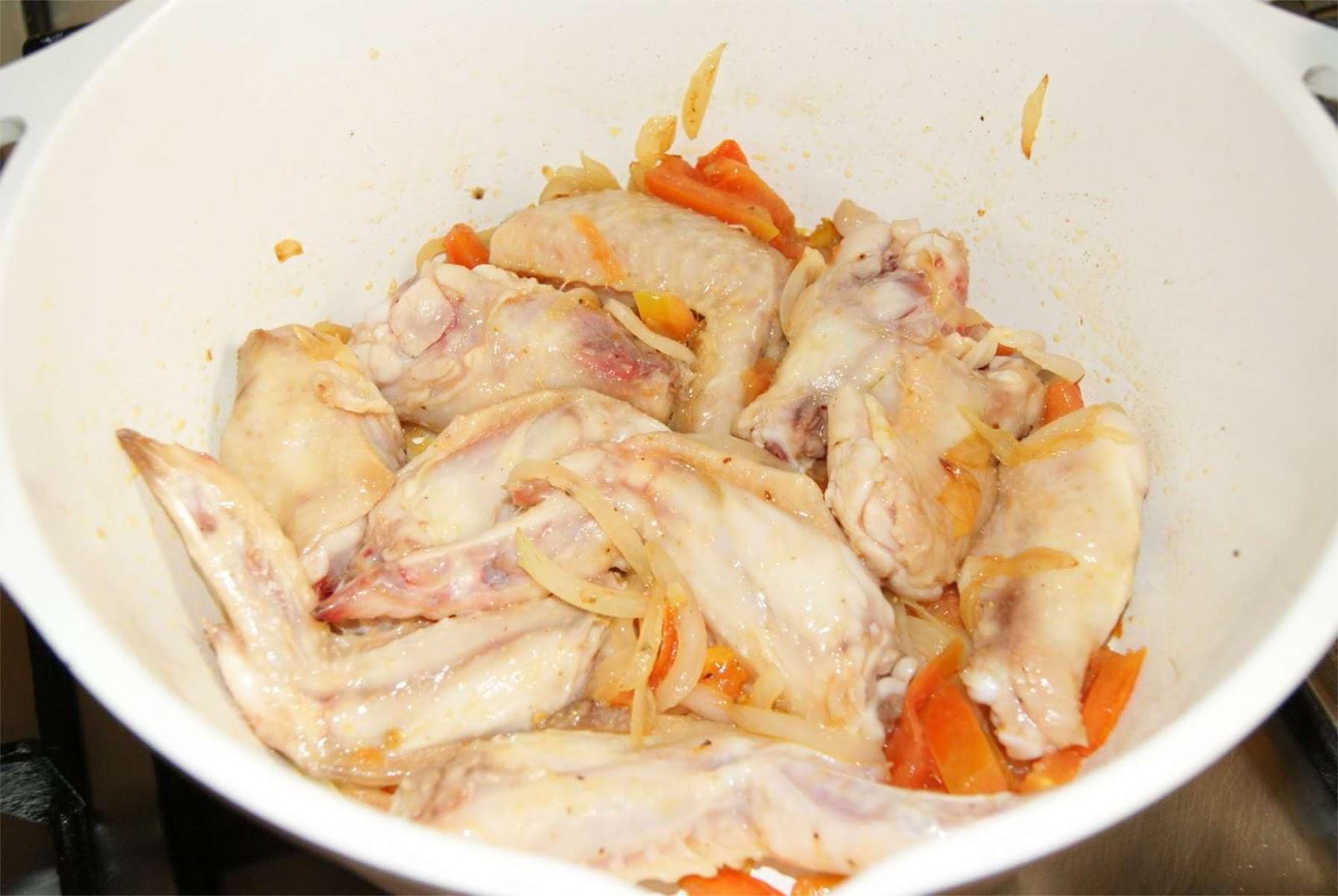Alitas de pollo al limon paso 2