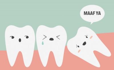 cabut gigi bongsu