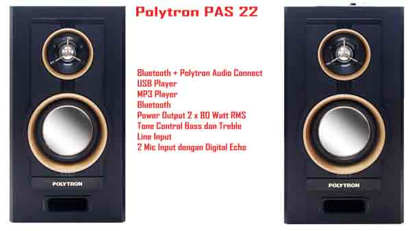 Harga Speaker Aktif Polytron PAS 22 Audio Connect
