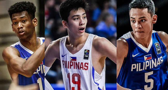 Gilas Pilipinas Youth Final 12-man Lineup for the FIBA Under-19 Basketball World Cup 2019