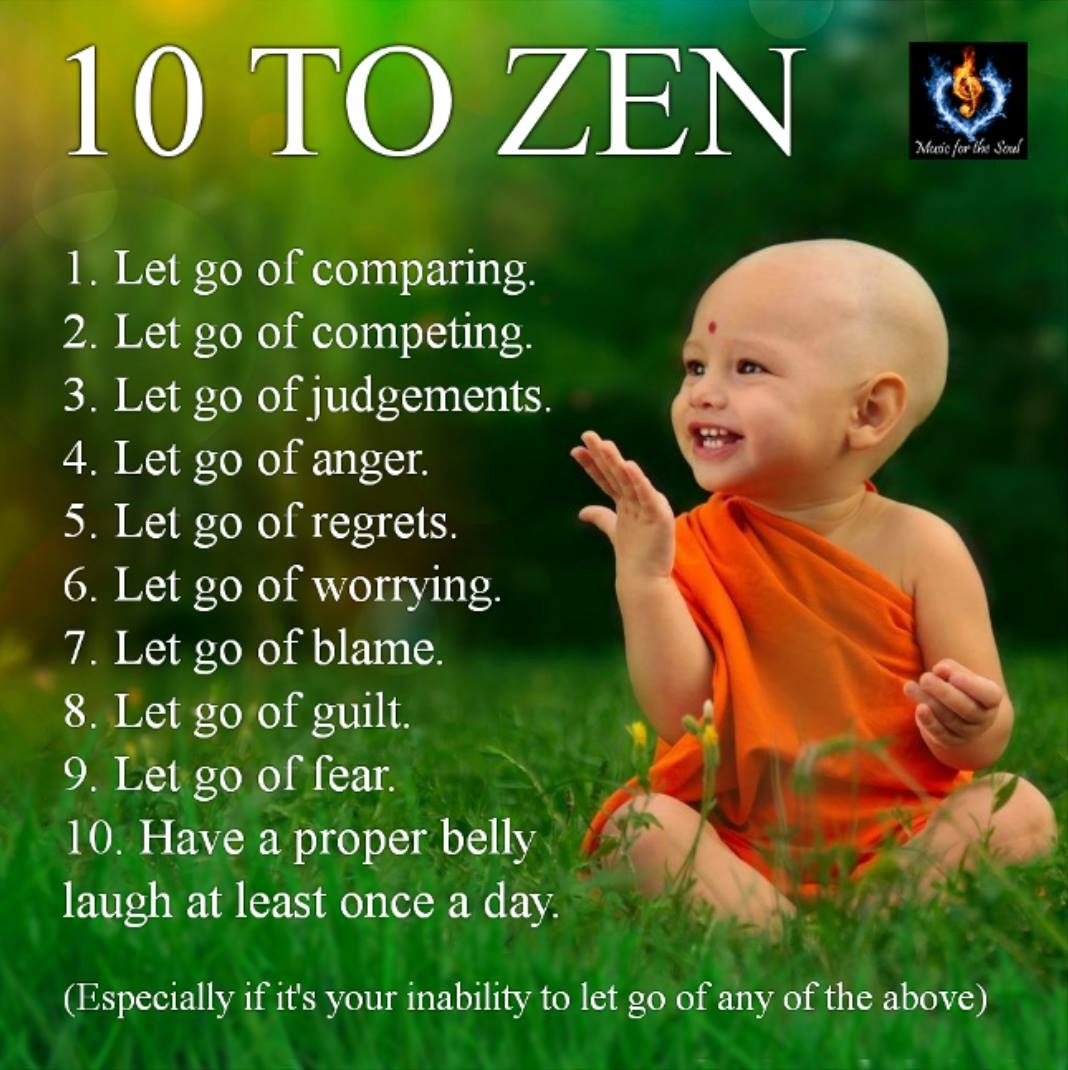 Zen Happiness Quotes: DBSA Jackson: On Your Way To Wellness Try 10 To Zen