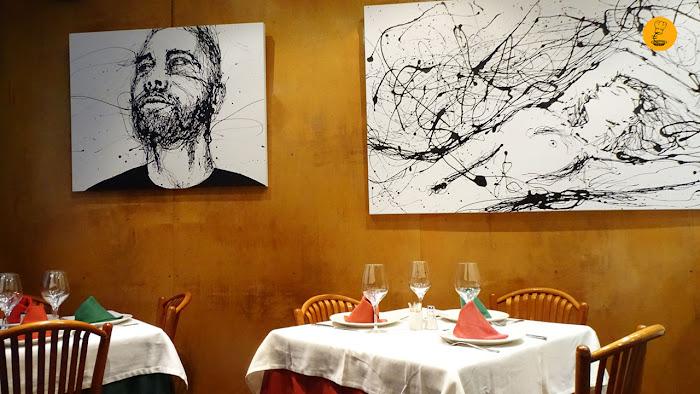 Asturianos Madrid restaurante