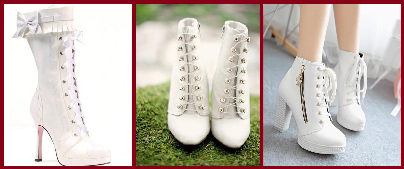 fa432fec Model który pasuje do większości sukien to buty wiązane. To dobry wybór  chociażby ze względu na ich subtelny, dziewczęcy wygląd. Botki to kolejna  propozycja ...