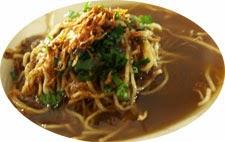 Mie Koba Kuah makanan khas Bangka