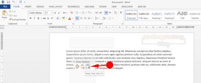 Cara Cepat dan Mudah Menghilangkan Background Tulisan di Ms Word Terbaru
