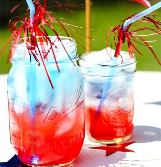 How to Make Patriotic Non Alcoholic Summer Drinks