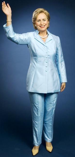 Foto de Hillary Clinton en sesión fotográfica