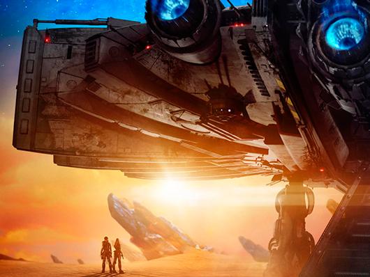 Teaser póster de ' Valerian y la ciudad de los mil planetas'