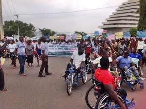 One Million Man March in Support of Anti-open Grazing Law in Benue