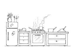 RECURSOS y ACTIVIDADES para Educación Infantil: Dibujos para colorear UTENSILIOS DE COCINA