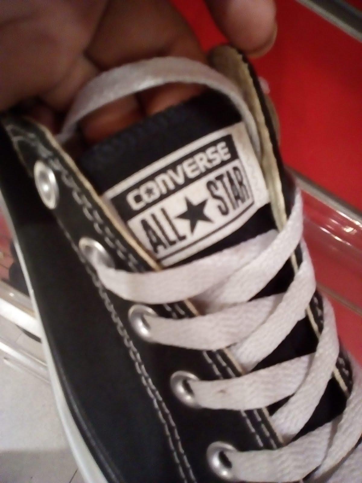 Cara Membedakan Sepatu Converse All Star Asli Sama Palsu Bagian 2